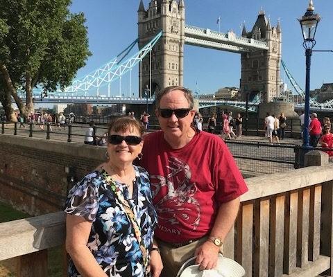 Donna Mike London Bridge background